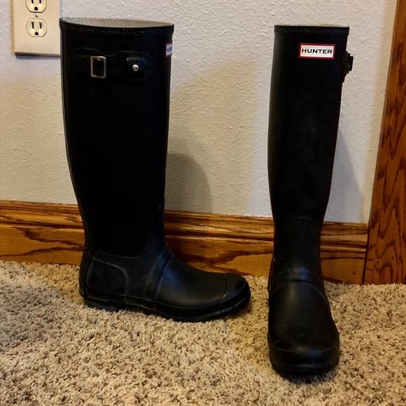 Hunter Womens Boot Socks Original Short or Tall Red Size Medium or Large